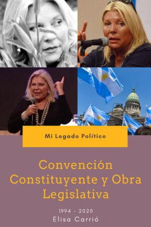 Elisa Carrió - Mi legado político